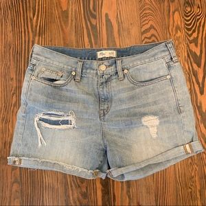 Madewell Distressed Shorts